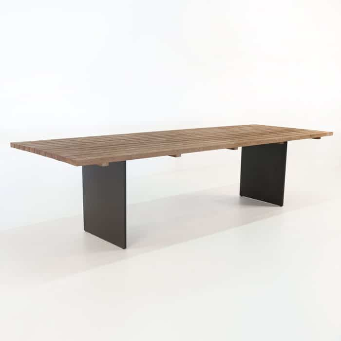 New york reclaimed teak dining tables design warehouse nz for Design table new york