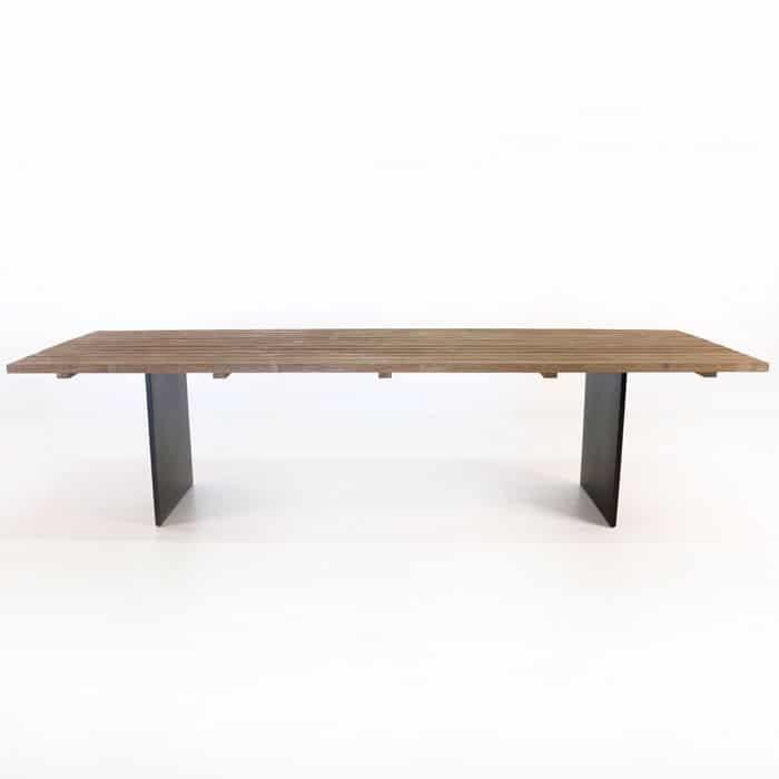New York Reclaimed Teak Dining Tables-1542