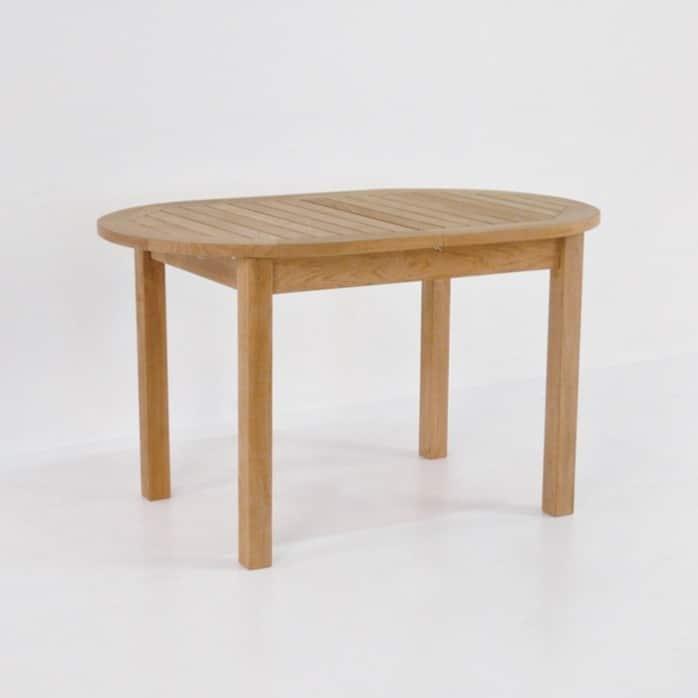 Nova Oval Teak Extension Outdoor Dining Tables-0