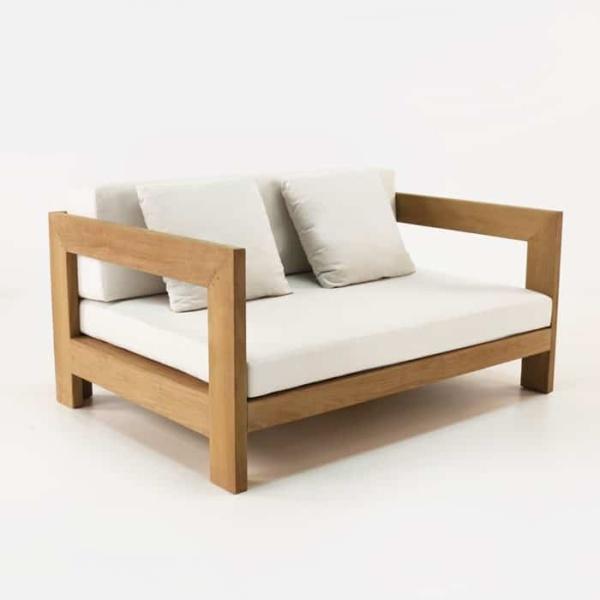 amalfi teak club chair