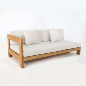 amalfi right arm daybed sectional