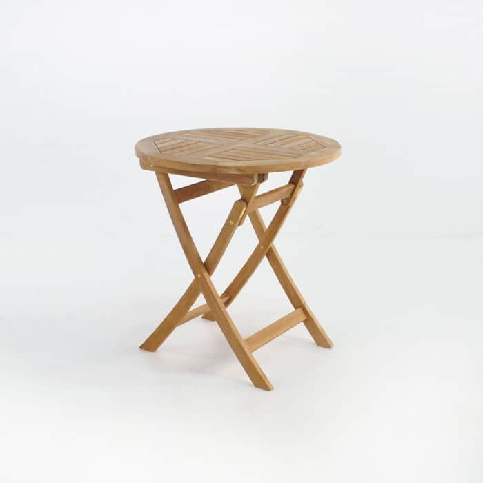 Round Teak Folding Dining Table Outdoor Furniture  : round folding 27 1 from designwarehouse.co.nz size 700 x 700 jpeg 40kB