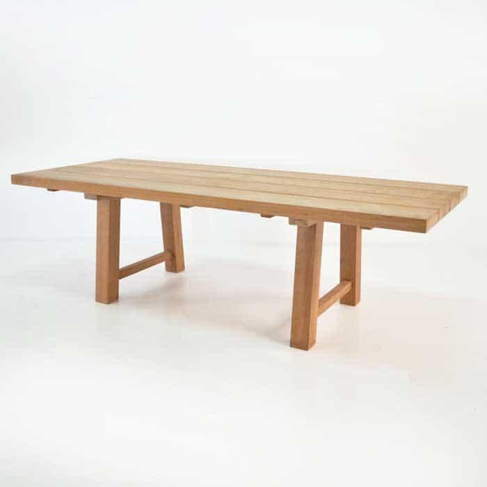 Somerset Teak Trestle Dining Tables Design Warehouse NZ : somerset trestle dining table from designwarehouse.co.nz size 700 x 700 jpeg 8kB