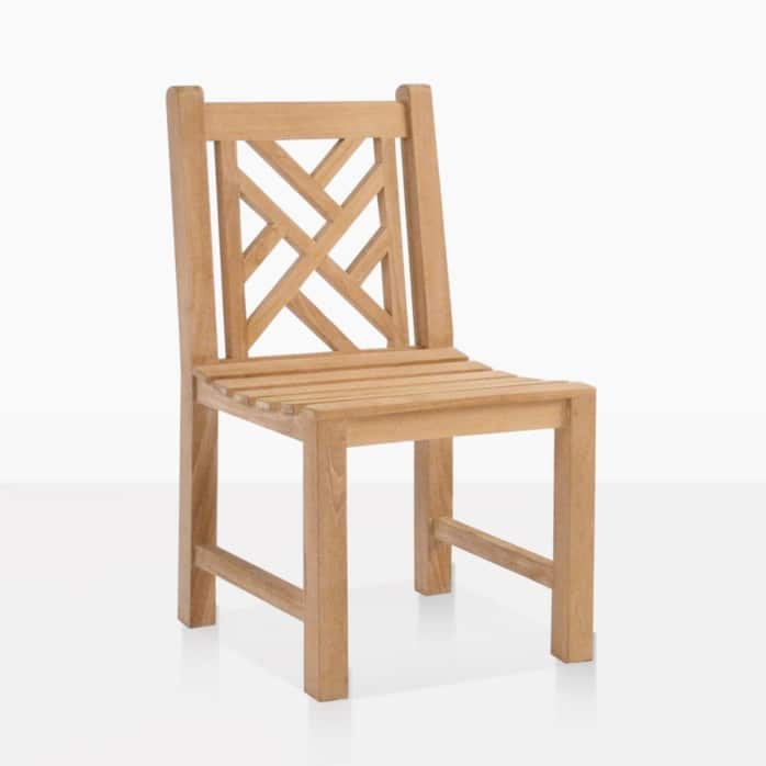 Elizabeth outdoor teak dining chair