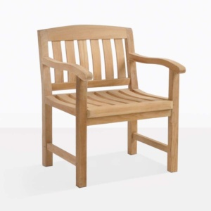 The Newport Teak Arm Chair