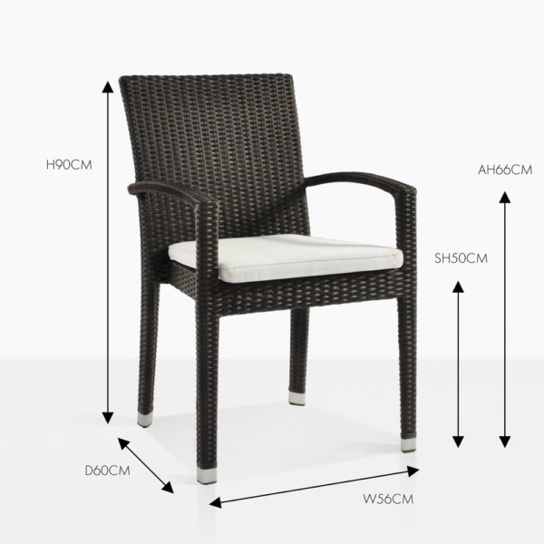 Romansa java armchair wicker