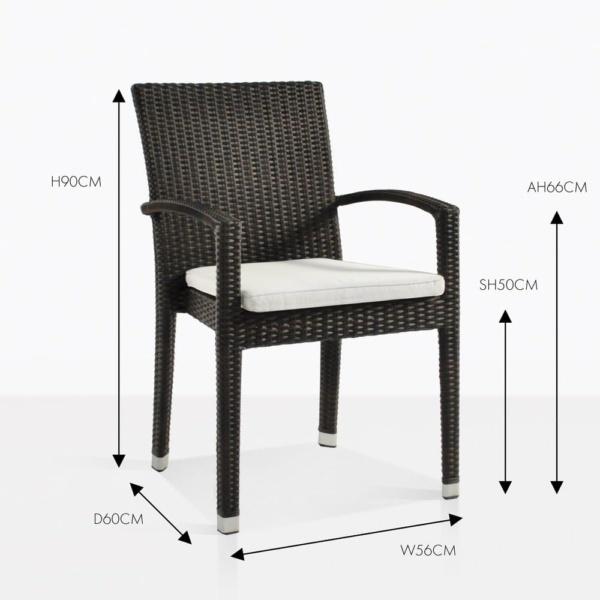 Romansa java armchair wicker