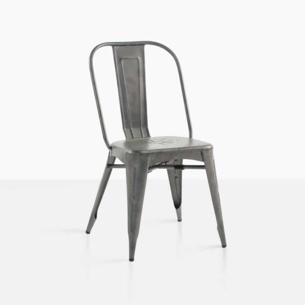 alix aluminium dining chair