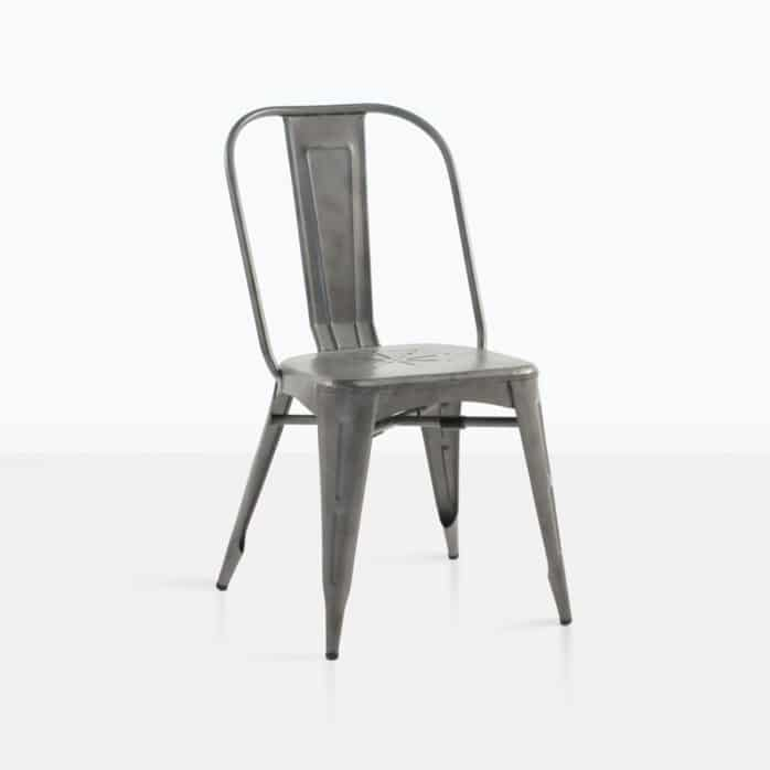 alix aluminium dining chair