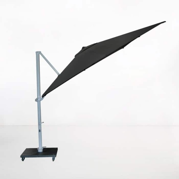 Antigua 3.0 Metre Cantilever Umbrella (Black)-2117