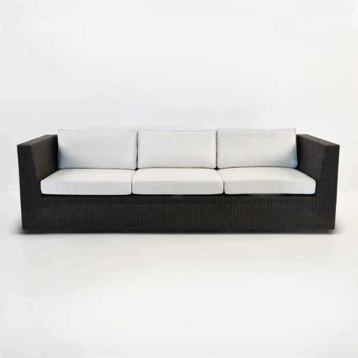 Antonio Outdoor Wicker Sofa (Java)-1336
