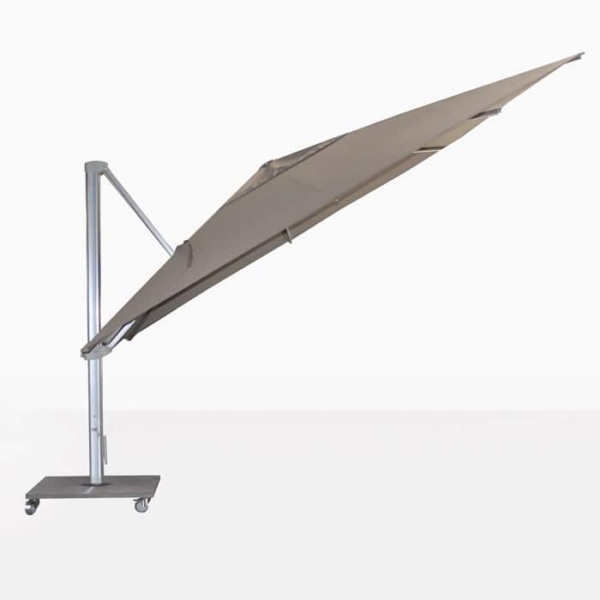 ascot taupe cantilever umbrella angle