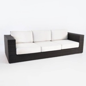 angle outdoor wicker Austin java sofa angle