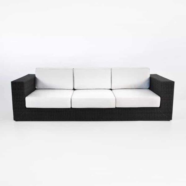 front Austin java sofa