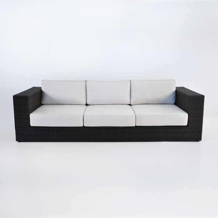 Austin Outdoor Wicker Sofa (Java)-605