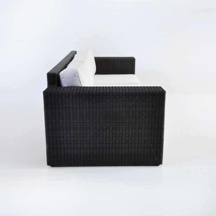 Austin Outdoor Wicker Sofa (Java)-604