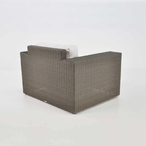modern outdoor wicker club chair