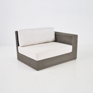 Austin Outdoor Wicker Sectional Kubu (Left)-0
