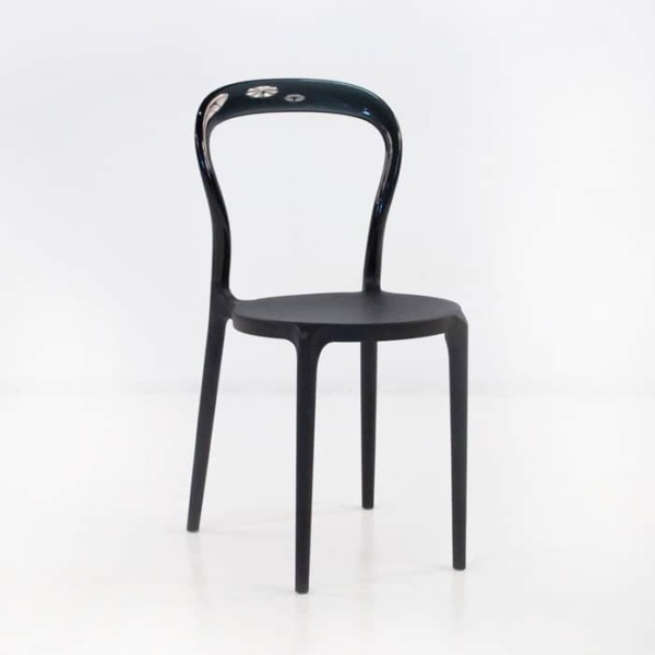 Bent Cafe Dining Chair (Black)-0