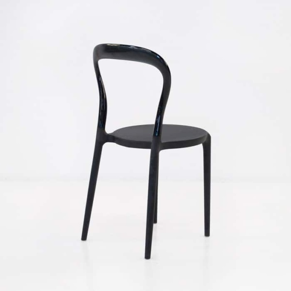 Bent Cafe Dining Chair (Black)-1201
