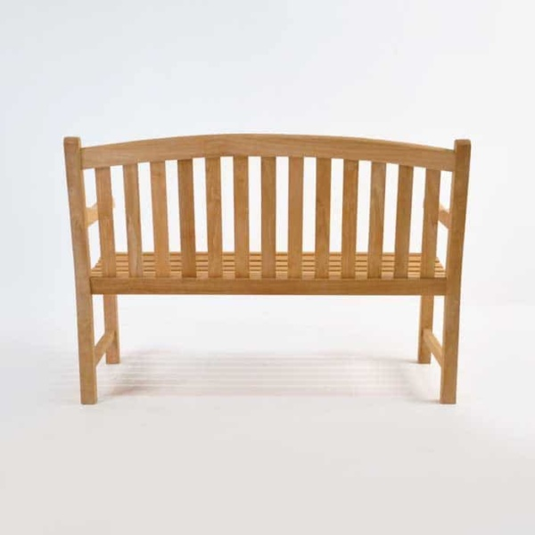 Bowback 2-Seater Teak Outdoor Bench-1450