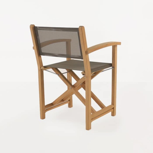 cannes directors dining chair teak folding