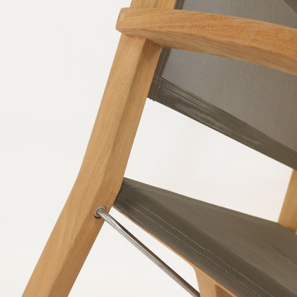 Cannes Dining Teak Directors Chair Design Warehouse Nz