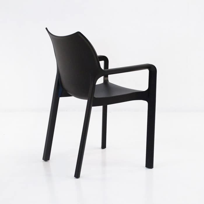 Cape Cafe Dining Chair (Black)-1218