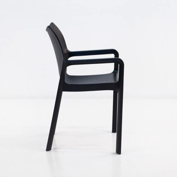 Cape Cafe Dining Chair (Black)-1220
