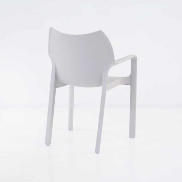 Cape Cafe Dining Chair (Grey)-1227
