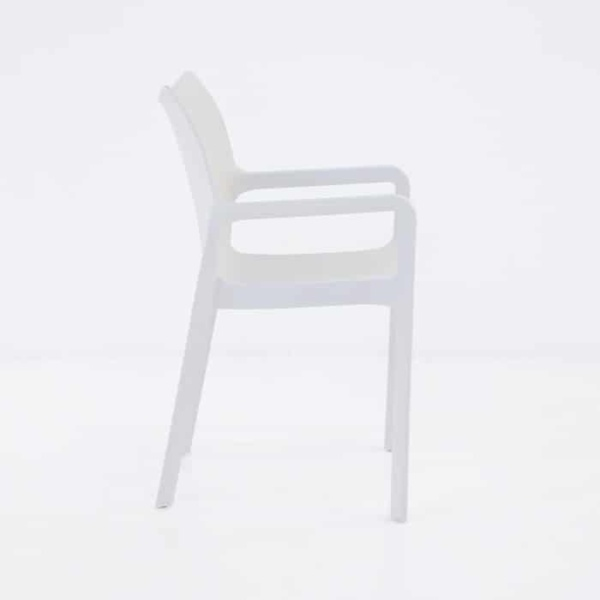 Cape Cafe Dining Chair (White)-1234