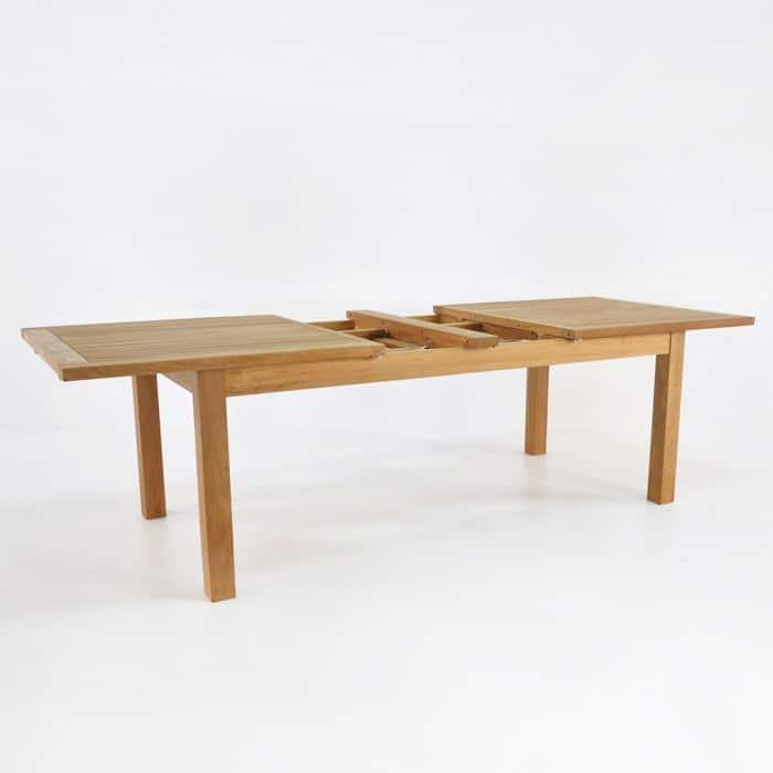 Capri Rectangle Teak Double Extension Dining Tables  : capri dbl et rect 78 90 102 39 2 from designwarehouse.co.nz size 700 x 700 jpeg 38kB