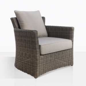 Chopin Classic Wicker Outdoor Relaxing Chair With Cushions