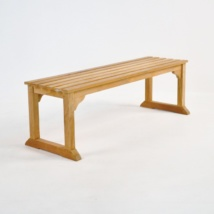 Classic Teak Backless Bench