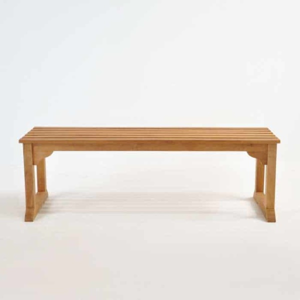 Classic Teak Backless Benches-1447