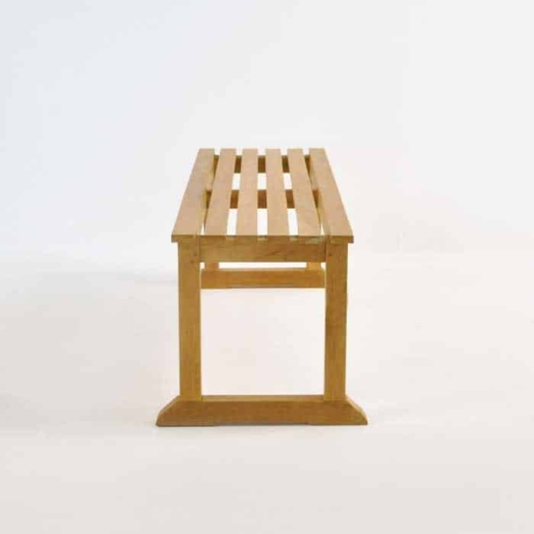 Classic Teak Backless Benches-1448