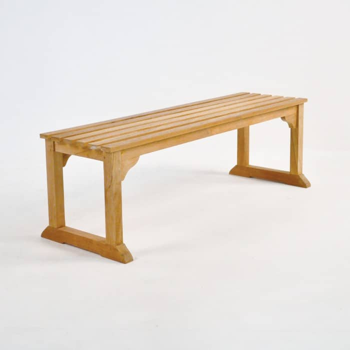 Classic Teak Backless Benches Design Warehouse Nz