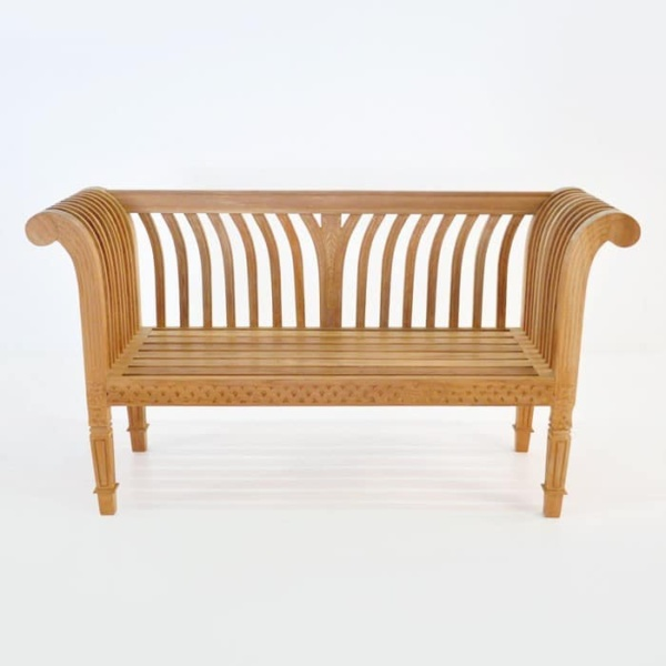 Cleopatra Teak Outdoor Bench-1483