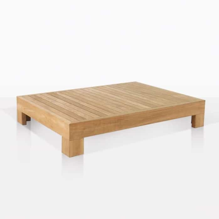 low coast coffee table angle
