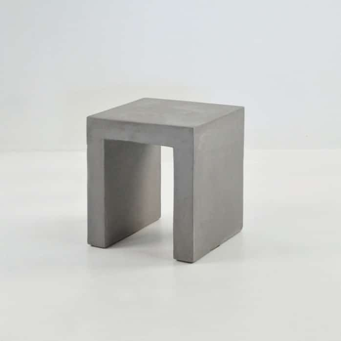 Raw Concrete Square Side Table or Stool Design Warehouse NZ : concrete square 1 698x698 from designwarehouse.co.nz size 698 x 698 jpeg 40kB