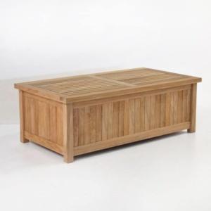 Teak Cushion Box wood