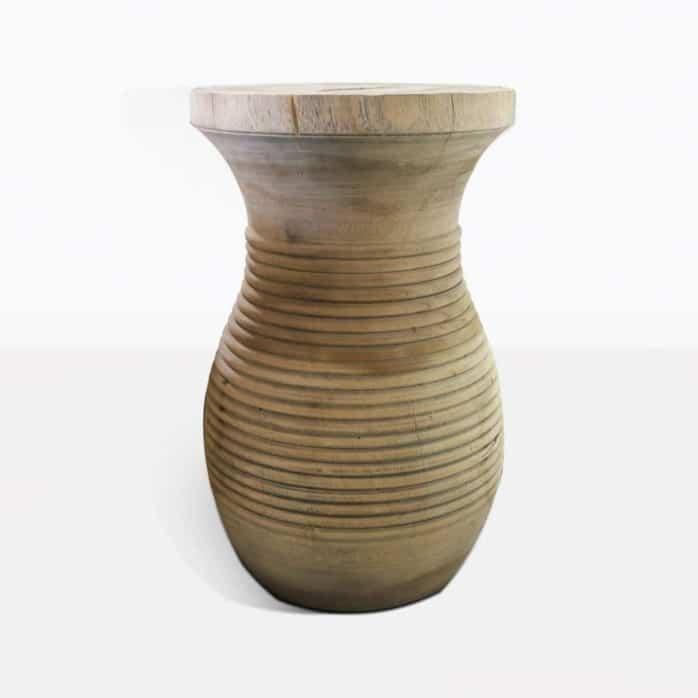 dan stool organic wood