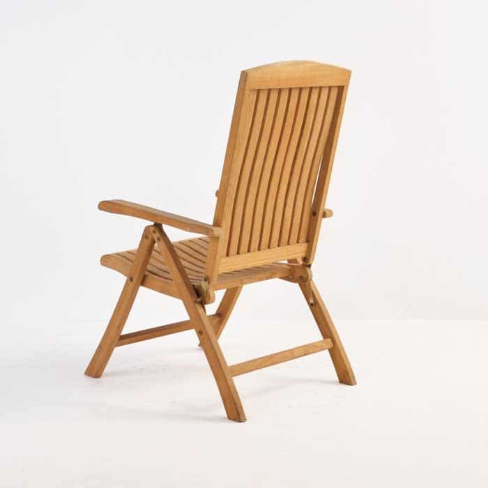 Dorset Teak Relaxing Reclining Chair-1048