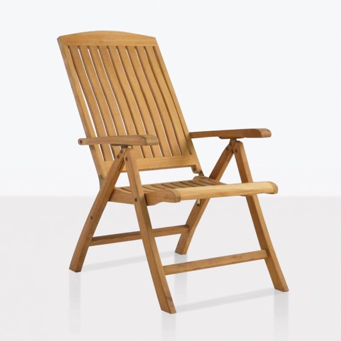 Dorset teak relaxing reclining chair