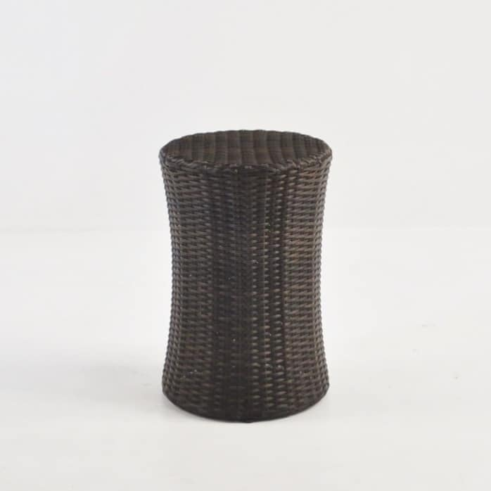 Drum Wicker Side Table (Java)