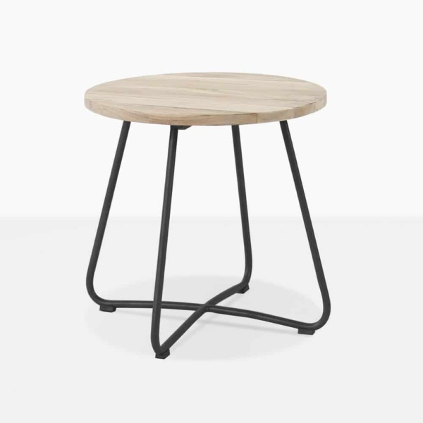 east black outdoor side table