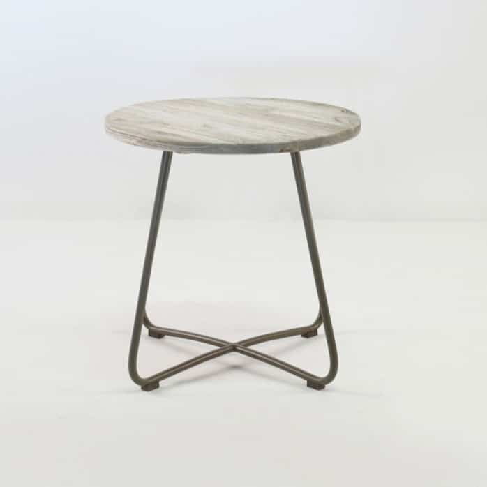 East Driftwood Side Table (Taupe)-0