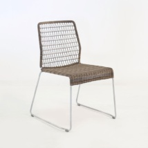 edge wicker side chair in sampulut