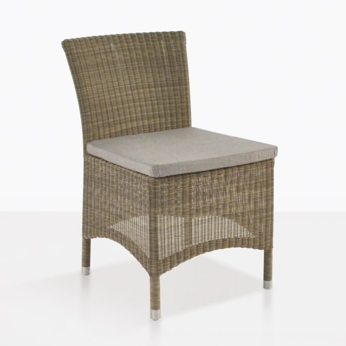 enna wicker outdoor side dining chair