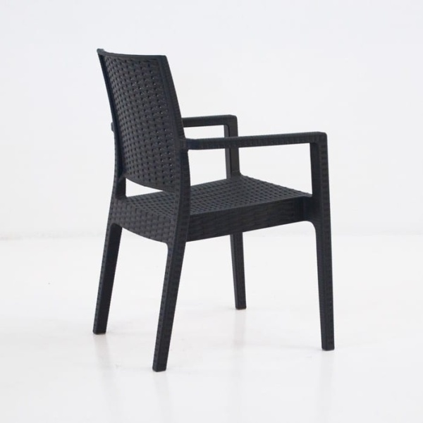 Event Cafe Dining Chair (Black)-1248